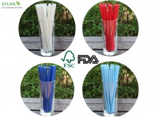 Biodegradable Environmental-Protecting FSC Certified Paper Drinking Straws