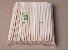 Eco-Degradable Exported-to-Japan Korea Smooth No-joint High-Grade Natural Color One-piece Chopsticks 21cm Chopsticks (Bulk Pack)