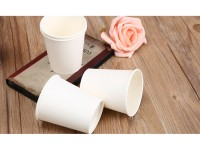 Eco-Friendly 4.5oz High-temperature-resistant White Paper Cup Tasting Cup