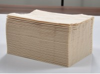 Eco-Friendly Bamboo Pulp Natural Wood Napkin 3 Layers Paper Draw-out Paper