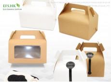 Environmentally-friendly Folding Portable Pastry Baking Box Cake Portable Pastry Box Cake Box