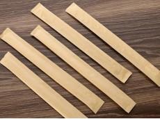 Green Biodegradable Disposable Bamboo Chopsticks 21cm One-piece Chopsticks (Individual Kraftaper Pack)